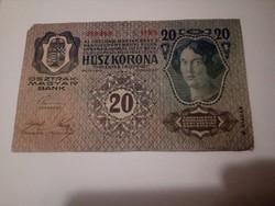 1913-as 20 korona II kiadás