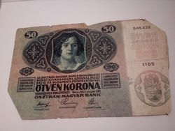 1914-es 50 korona