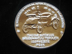 Zsolnay Plakett   : Magyar Autóklub