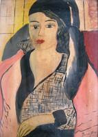Bene Géza: Art deco Mona Lisa