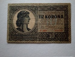 1919-es 10 Korona F sorozat R!