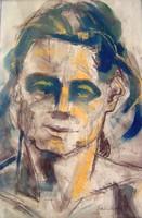 Schönberger Armand: Fiatalkori önarckép