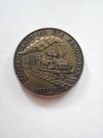 Magyar vasút 150 éve európában bronz érme aUNC