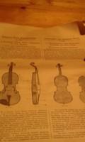 Hohmann - Bloch kétnyelvű hegedűiskola  az 1920-as évekből eladó.