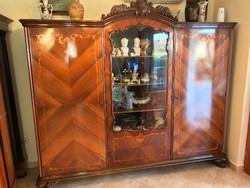 Antik neobarokk 3 ajtós szekrény