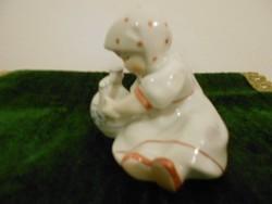 Zsolnay porcelán Annuska