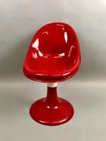 Retro üvegszálas kagyló szék