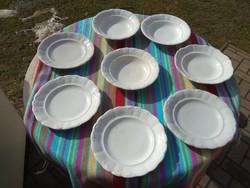 Zsolnay porcelán dombormintás tányér készlet + Gratis