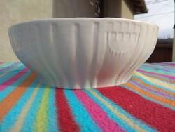 Zsolnay pajzspecsétes porcelán leveses/köretes tál