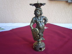Antik pajzsos bronz vitéz