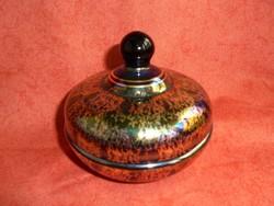Arany-eozin üveg bonbonier