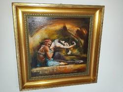 Eladó a képen látható Alim Adilov festmény