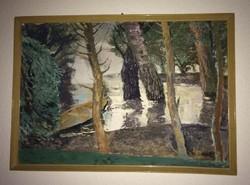 Eladó a képen látható Nagy B. I. festménye