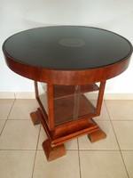 Eladó a képen látható biedermeier asztal