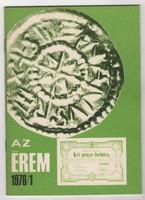 Az Érem 1976/1 - numizmatikai folyóirat