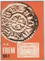 Az Érem 1975/2 - numizmatikai folyóirat