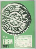 Az Érem 1983/1 - numizmatikai folyóirat