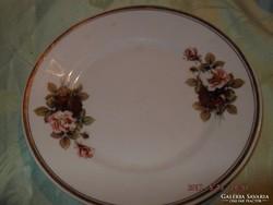 Rózsás hollóházi fali tányér