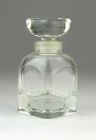 0Q072 Antik kisméretű parfümös üvegcse kisüveg