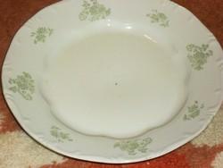 Zsolnay ritka lapos tányér