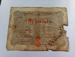 5 forint (Kossuth bankó)