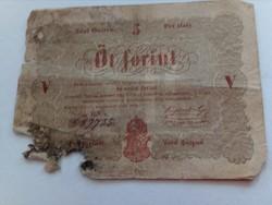 5 Forint (Kossuth Bankó) Barna!!