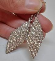 Szépséges antik kristályköves  fülbevaló/