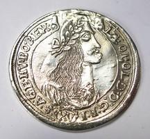 Lipót XV krajcár 1675 KB