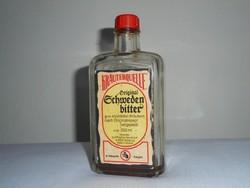 Retro gyógyszeres üveg palack - Svédcsepp - 1991-es