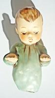 Hummel porcelán, kisfiú figura