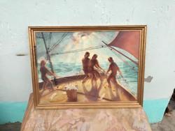 Bokor Béla csodálatos festménye.