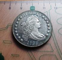 EXTRA SZÉP  USA LIBERTY HALF  DOLLAR 1796