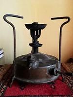 Svéd antik benzin lámpa