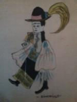 Kisméretű modern kori festmény