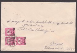 1932. Kisegítő bélyeges boríték.