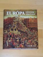 Könyvtár felszámolás- Európa népeinek története/Officina Nova