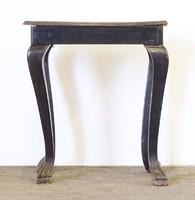 0Q194 Antik oroszlánlábas szalonasztal kisasztal