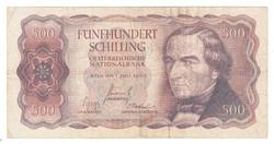500 schilling 1965 Ausztria