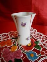 Ritka Drasche porcelán váza 8 cm magas