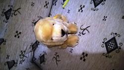 Eladó a képeken látható Steiff kiskutyus.