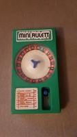 Retro játék mini rulett