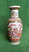 Jelenetes kínai váza
