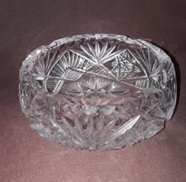 Cseh üveg, kristály hamutál