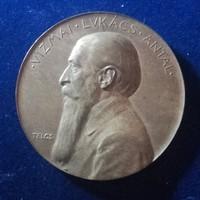 Telcs Ede: Vizmai Lukács Antal érem 1903