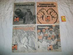 Ifjúsági Magazin 1975 - négy darab