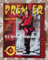 Premier magazin, I. évfolyam, 3. szám, 1997. május - Michael Jackson, gyűjteményből, nagyon ritka.