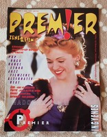 Premier magazin, I. évfolyam, 1. szám, 1997. március - MADONNA, gyűjteményből, nagyon ritka.