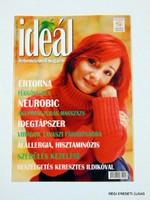 2002 április -  /  IDEÁL  /  RÉGI EREDETI MAGYAR ÚJSÁG Szs.:  4289