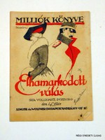 1917 december 22  /  MILLIÓK KÖNYVE  /  RÉGI EREDETI MAGYAR ÚJSÁG Szs.:  4300