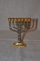 Mini Judaika 7 ágú gyertya tartó  ( DBZ 0020 )